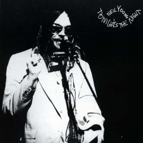 NEIL YOUNG, tonight´s the night (remaster) cover