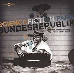 Cover V/A, science fiction park bundesrepublik