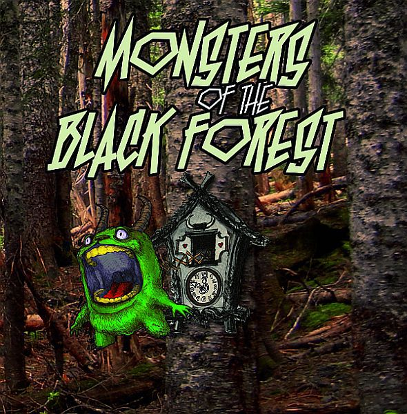 Cover V/A, monsters of the black forest