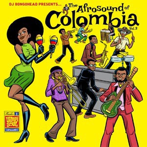 V/A, afrosound of colombia vol.2 cover