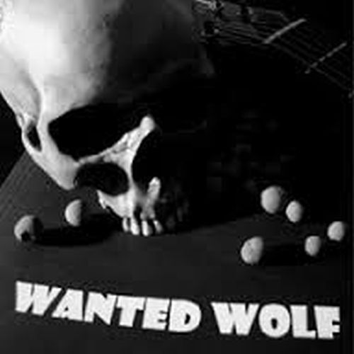 Cover WANTED WOLF, dead not alive