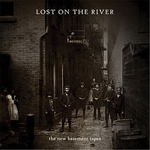 Cover NEW BASEMENT TAPES, lost on the river