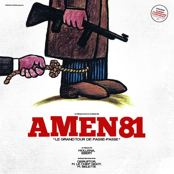 Cover AMEN 81, le grand tour de passe-passe