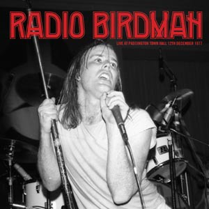 Cover RADIO BIRDMAN, live at paddington hall ´77