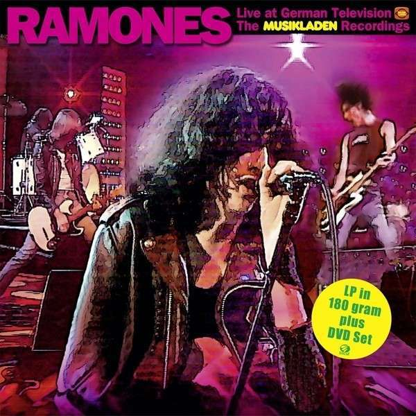 RAMONES, the musikladen recordings 1978 cover