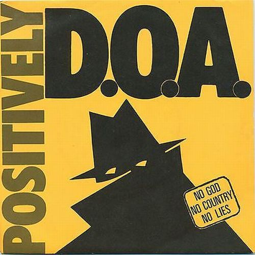 D.O.A., positively ep cover
