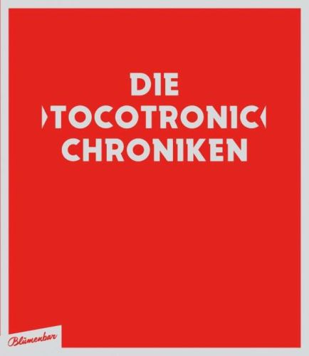 Cover JENS BALZER, die tocotronic chroniken