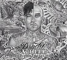 Cover TRAVIS BARKER, psycho white