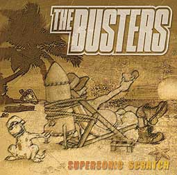BUSTERS, supersonic scratch cover