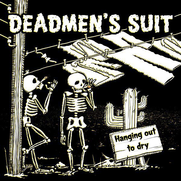 Cover DEADMEN´S SUIT, hanging out to dry