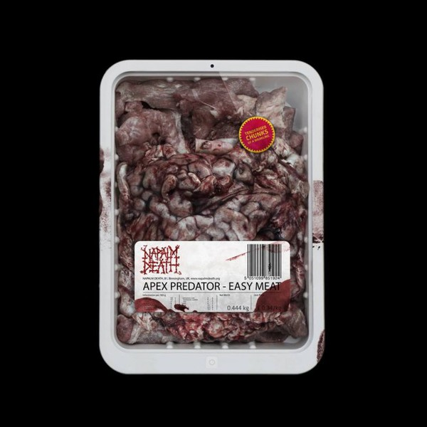 Cover NAPALM DEATH, apex predator - easy meat