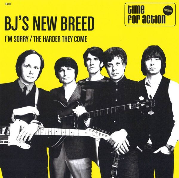 BJ´S NEW BREED, i´m sorry cover