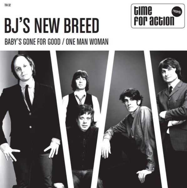 BJ´S NEW BREED, baby´s gone for good cover
