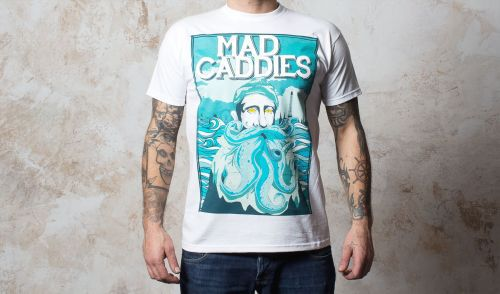 Cover MAD CADDIES, blue beard (boy) white