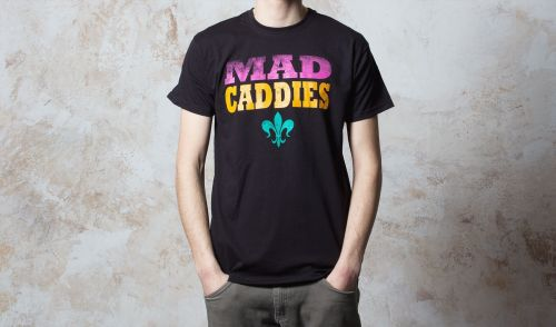 Cover MAD CADDIES, fleur 3colored (boy) black