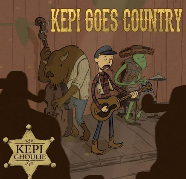 Cover KEPI GHOULIE, kepi ghoulie goes country