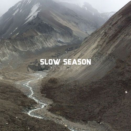 SLOW SEASON, mountains cover
