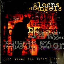 NEIL YOUNG, sleeps with angels cover