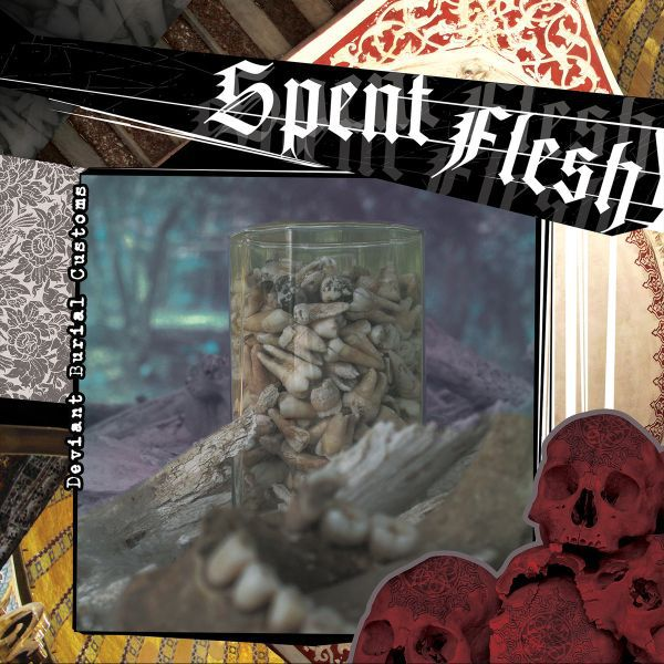 Cover SPENT FLESH, deviant burial customs (tour ep)