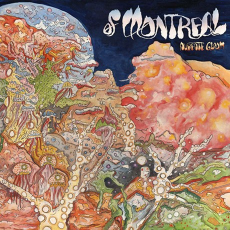 Cover OF MONTREAL, aureate gloom