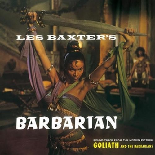 Cover LES BAXTER, barbarian
