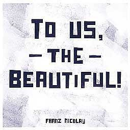 Cover FRANZ NICOLAY, to us, the beautiful