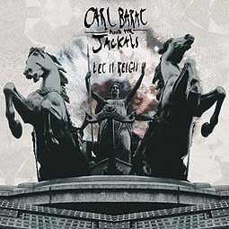 CARL BARAT AND THE JACKALS, let it reign cover