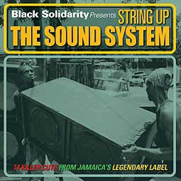 Cover V/A, black solidarity: string up the sound system