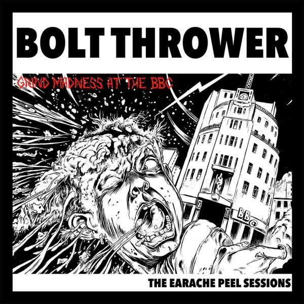 BOLT THROWER, earache peel sessions cover