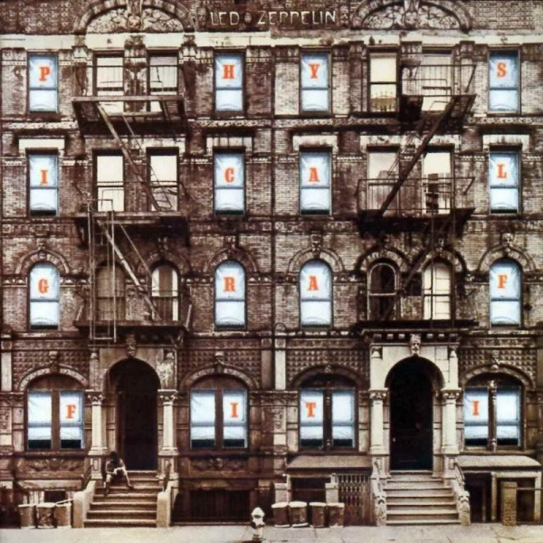 LED ZEPPELIN, physical graffiti cover