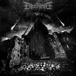 DEATHRITE, into extinction cover
