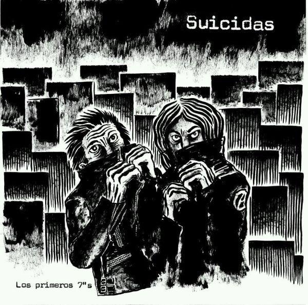 """SUICIDAS, los primeros 7""""s cover"""