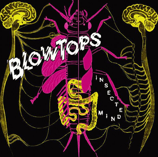 Cover BLOWTOPS, insected mind