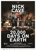 NICK CAVE, 20000 days on earth cover