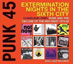 Cover V/A, punk 45: extermination nights in the sixth city