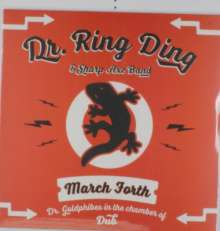 Cover DR. RING DING & SHARP AXE BAND, march forth