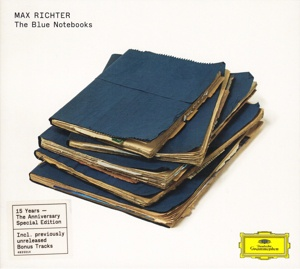 Cover MAX RICHTER, the blue notebooks