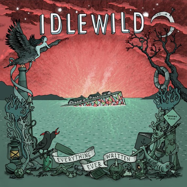 Cover IDLEWILD, everything ever written