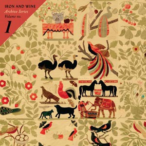 IRON AND WINE, archive series vol. 1 cover