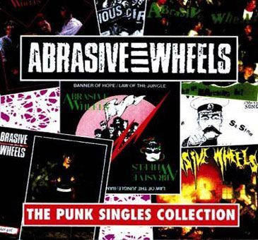 Cover ABRASIVE WHEELS, punk singles