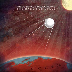 Cover PUBLIC SERVICE BROADCASTING, the race for space