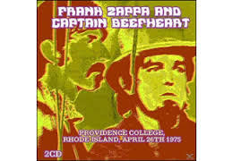 Cover FRANK ZAPPA/ CAPTAIN BEEFHEART, providence college, 26. april 1975
