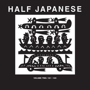 Cover HALF JAPANESE, vol. 2: 1987-1989