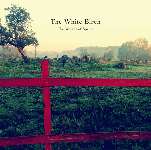 Cover WHITE BIRCH, the weight of spring