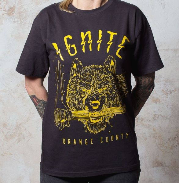 Cover IGNITE, wolf (boy) used black