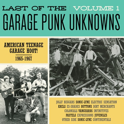 Cover V/A, garage punk unknowns vol. 1