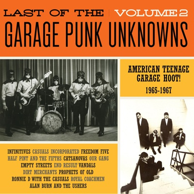 Cover V/A, garage punk unknowns vol. 2