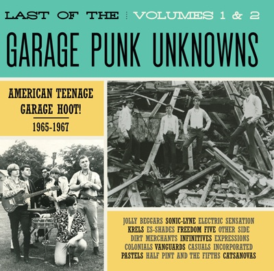 V/A, garage punk unknowns vol. 1 + 2 cover