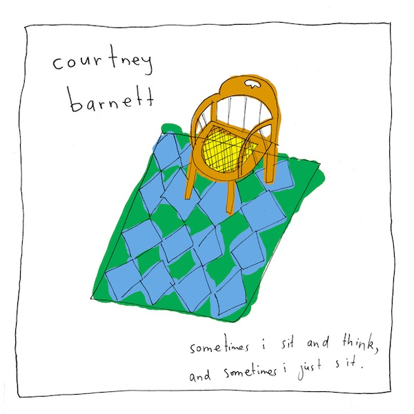 Cover COURTNEY BARNETT, sometimes i sit and think