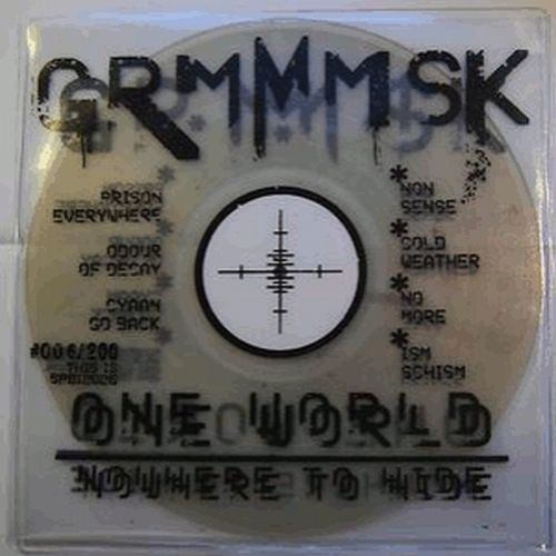 Cover GRMMMSK, one world nowhere to hide